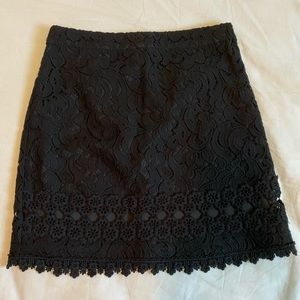 Black Laced Top Shop Skirt